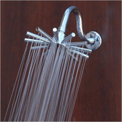 wheel chrome rain shower head